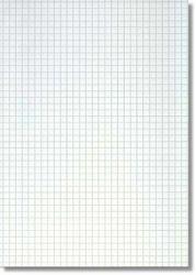 Konseptipaperi A4, 7x7 mm ruudut 250 arkkia/pak,10pkt/ltk