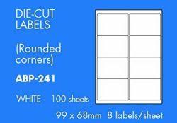 Monitoimitarra 99 x 68mm 8 tarraa/arkki 100 arkkia/pak