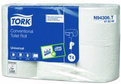 WC-paperi T4, 306 ark/rll 2.krs