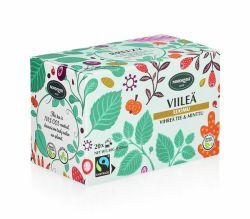 Pussitee Viileä vihreä tee & minttu 20 pussia