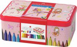 Huopakynä Ballerina Box, 33 väriä/sarja