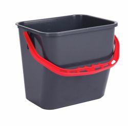 Siivousämpäri 6L punaisella kahvalla