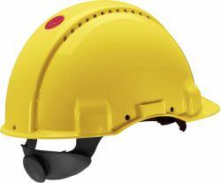 Suojakypärä G3000 NUV-GB ruuvisäätö Hi-Viz keltainen