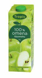 Omenatäysmehu 100 % 1L 10 tlk/ltk