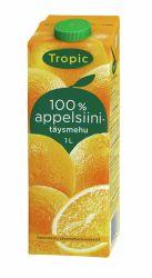 Appelsiinitäysimehu 1L