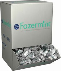 Suklaakonvehti  Fazermint 3 kg/ltk