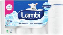 WC-paperi valkoinen, 5 pkt/sk