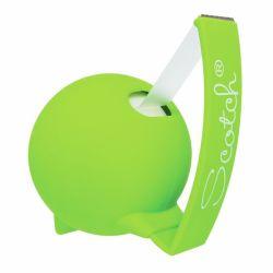 Teippiteline ja teippi Soft vihreä ja 1 rll Magic teippi