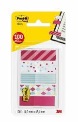 Teippimerkki Index 684 Candy, 5x20 kpl