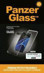 Suojalasi Premium Samsung S7 Edge musta
