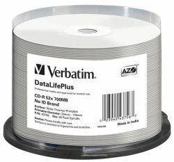 Tietolevy CD-R  700MB/80min 52x 50/pak