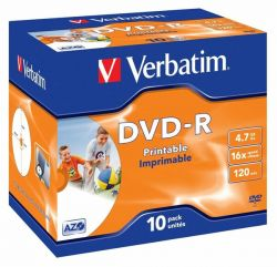 Tietolevy DVD-R 4,7GB 16x