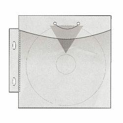 CD/DVD-tasku 148x143 mm, kirkas