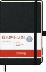 Muistikirja Kompagnon Classic, viivoitettu A5