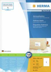 Osoitetarra  Premium 4252, A4, 199,6x289,1, 100 arkkia/ltk