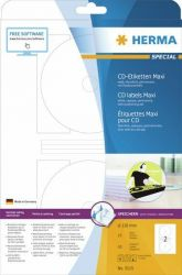 Tarra CD/DVD  5115, 116 mm, 2-osainen, 25 arkkia/pakkaus