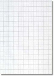 Konseptipaperi A4, 10x10 mm ruudut, 250 arkkia/pak,10pkt/ltk