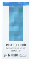 Reseptilehtiö 100x210, 50 sivua