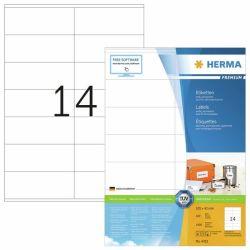 Tulostustarra  Premium 4452, 105x42 mm,  14-osainen, 100 arkkia/laatikko