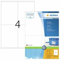 Tulostustarra  Premium 4454, 105x144 mm, 4-osainen, 100 arkkia/laatikko