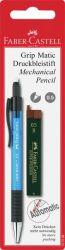 Irtolyijykynä ja lyijypaketti Grip-Matic 1375 + lyijy 0,5 mm B