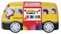 Huopakynä Koulubussi, 30 väriä/sarja