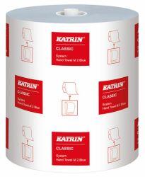 Käsipyyherulla Katrin Classic System Towel M2, sininen, 6 rll/ltk