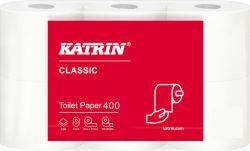 WC-paperi Classic Toilet 400 valkoinen