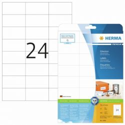 Tulostustarra  Premium 4390, 70x37 mm, 24-osainen, 25 arkkia/laatikko