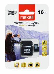 Muistikortti Micro SDHC 16Gb + adapteri