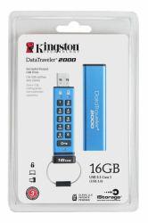 USB-muisti DT2000 16GB Pin-koodi