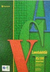 Luentolehtiö A5, 100 sivua, 8-12 reijitys
