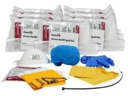 Täyttöpakkaus eritetahrapakkaukselle Oxivir Plus Spill Kit, 8/pak