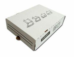 Arkistolaatikko Classic 4, 8 cm valkoinen