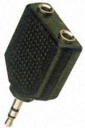 Adapteri 3.5mm-2x3.5mm M-F