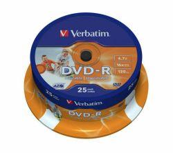 Tietolevy DVD-R 4,7GB 16x Printable