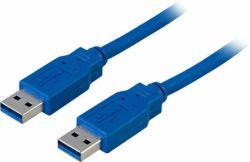 Kaapeli USB-A M-M 3.0 1m