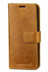 Suojakotelo Galaxy S8+ Wallet Lynge 2 Gold Tan