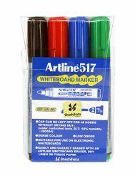 Taulukynä EK-517/W4 Drysafe 3 mm pyöreä 4 väriä/sarja
