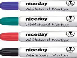 Valkotaulukynä 3 mm pyöreä 4 väriä/sarja