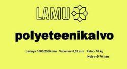 Polyeteenikalvo  1000/2000mmx0,09 10kg