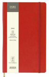 Muistikirja Flex A5, punainen, pilkulliset sivut