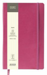Muistikirja Flex A5, pinkki, pilkulliset sivut