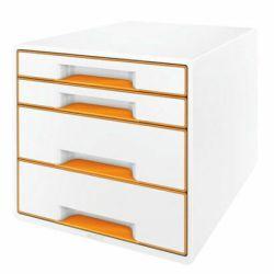 Lomakelaatikosto WOW 4-osainen, valkoinen/oranssi