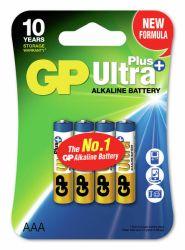 Alkaliparisto Ultra Plus, 24AUP-C4/LR03/AAA, 4 kpl/pak