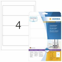 Tulostustarra  File 5095, 192x61 mm, 4-osainen, 25 arkkia/laatikko