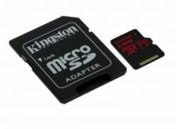 Muistikortti MicroSD Canvas React 64GB