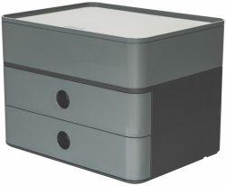Lokerikko Smart-Box plus, harmaa