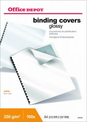 Kierresidontatakakansi A4 glossy-paperi 250 micronia 100/ltk