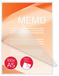 Tarralaminointitasku A5,  kiiltävä, 2x125 micronia, 100kpl/ltk